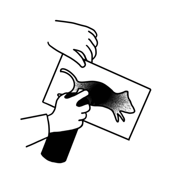 Blek le Rat stencil