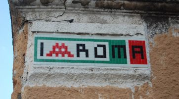 Space Invader Rome
