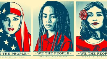 Shepard Fairey We the People cover